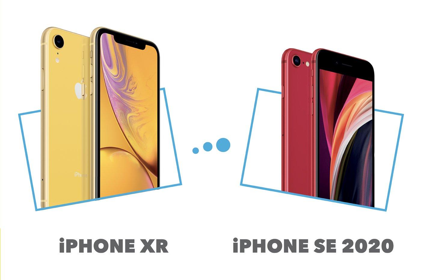 iPhone XR vs iPhone SE 2020