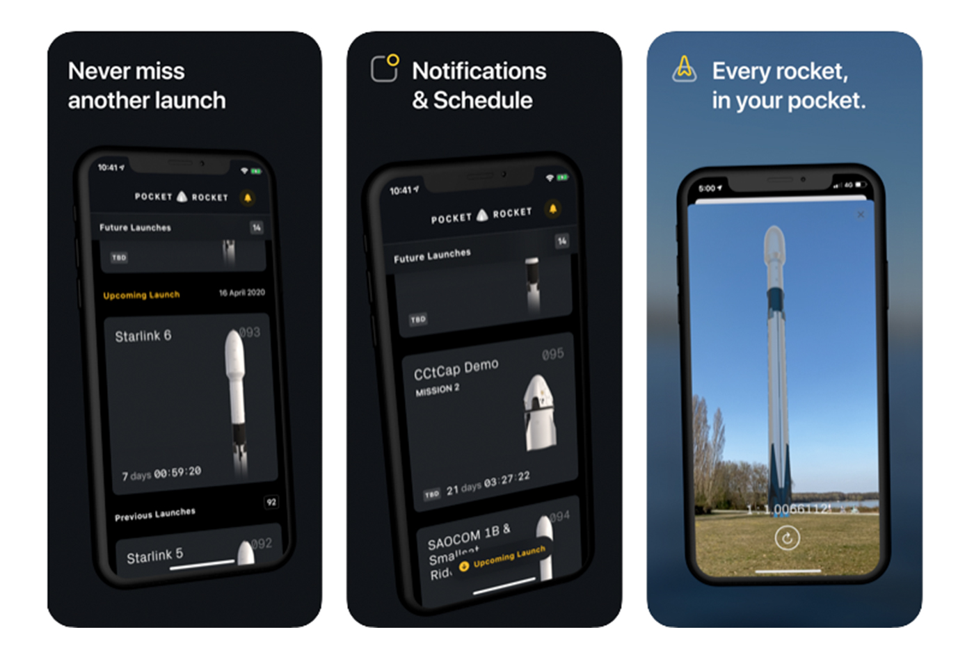 SpaceX Pocket Rocket