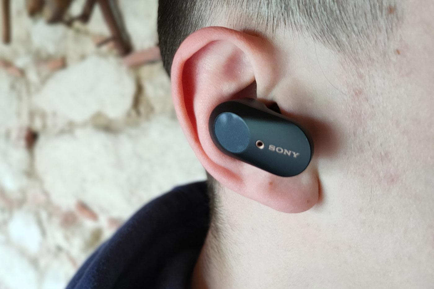 Test des écouteurs sans fil Sony WF-1000XM3 avec un iPhone 10
