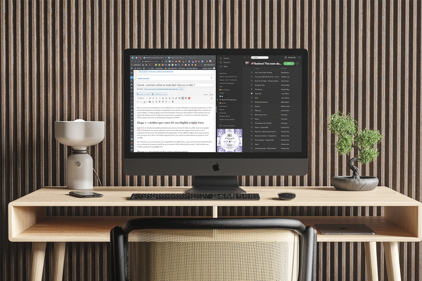 Tutoriel Split View Mac