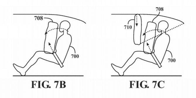 Apple Car: un brevet décrit un système d'airbags encore plus ingénieux 1