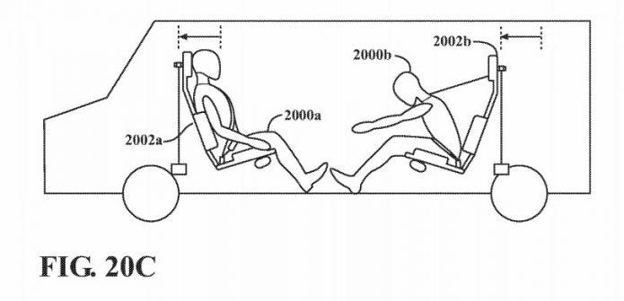 Apple Car: un brevet décrit un système d'airbags encore plus ingénieux 2