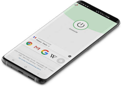 Application ExpressVPN Android