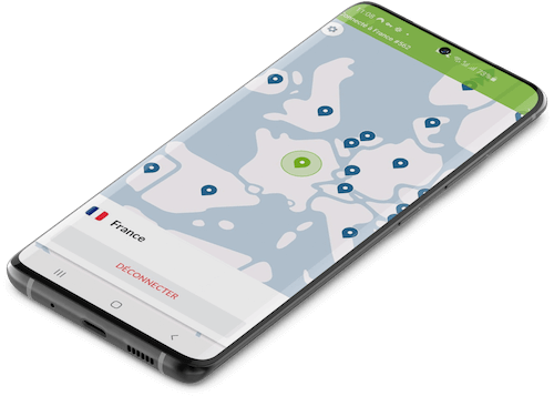 Application NordVPN Android