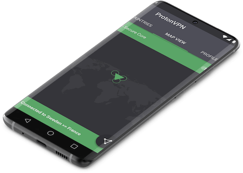 Application ProtonVPN Android