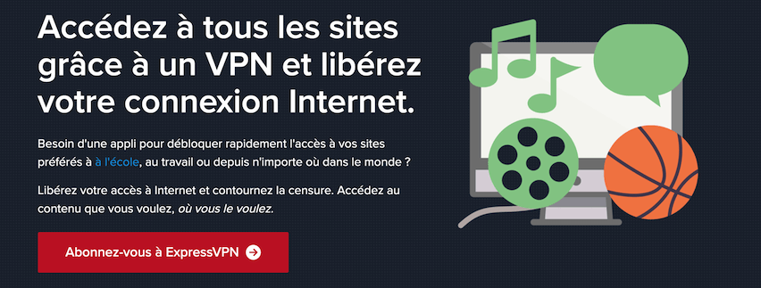 Debloquer sites VPN