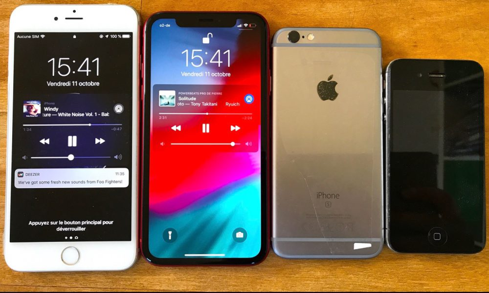 Lot Apple iPhone 6s, iPhone XR