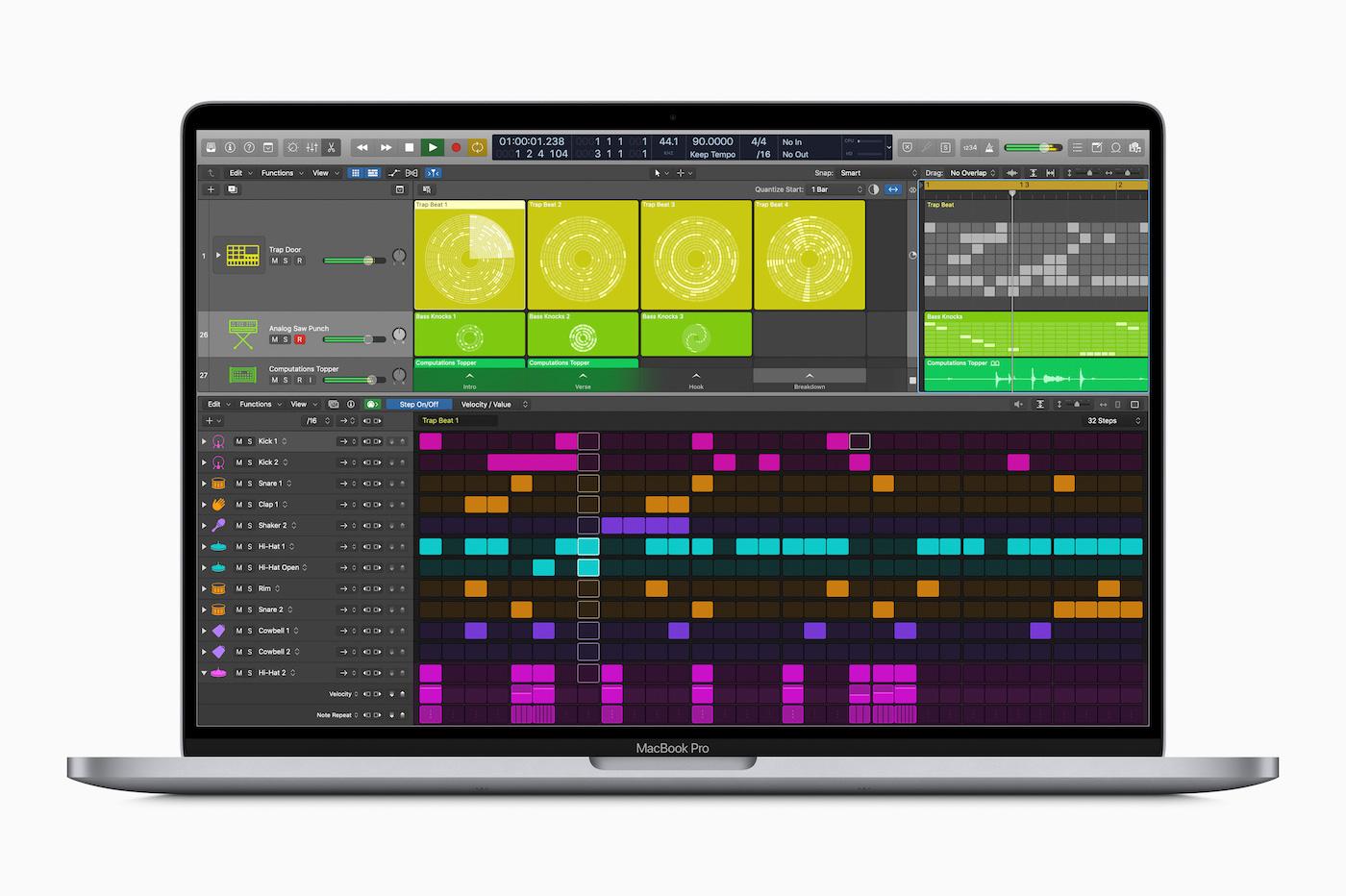 Apple Logic mise à jour 10.5