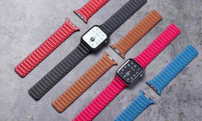 Apple Watch bracelet en cuir