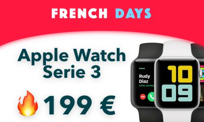 Bon plan Apple Watch Series 3 French Days