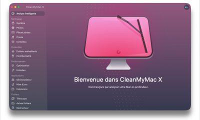 CleanMyMac X sur macOS