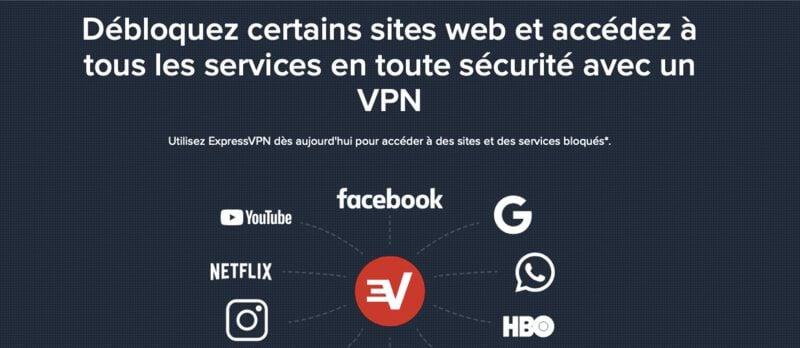 débloquer sites raison d'utiliser un VPN