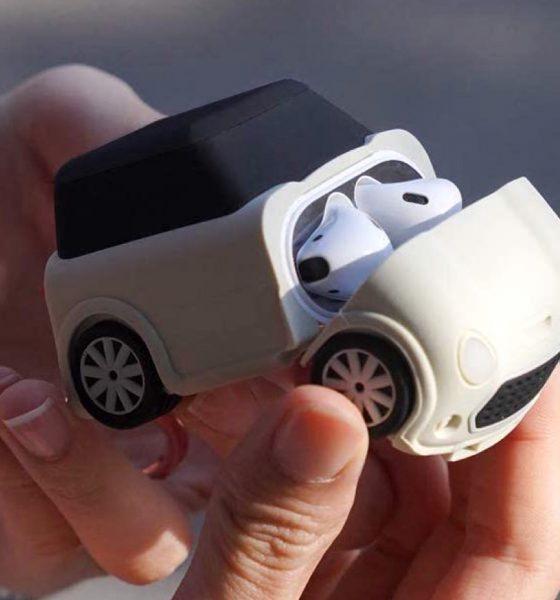 Elago Mini Car coque de protection AirPods