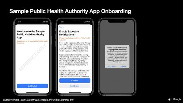 Covid-19: Apple présente les notifications d'expositions sur iOS 1