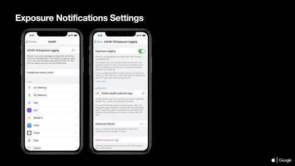 Covid-19: Apple présente les notifications d'expositions sur iOS 4