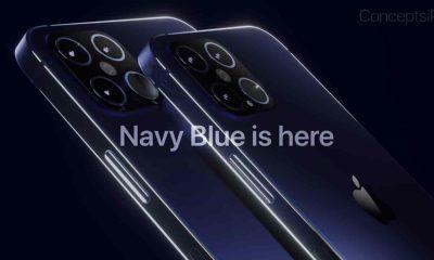 iPhone 12 bleu marine