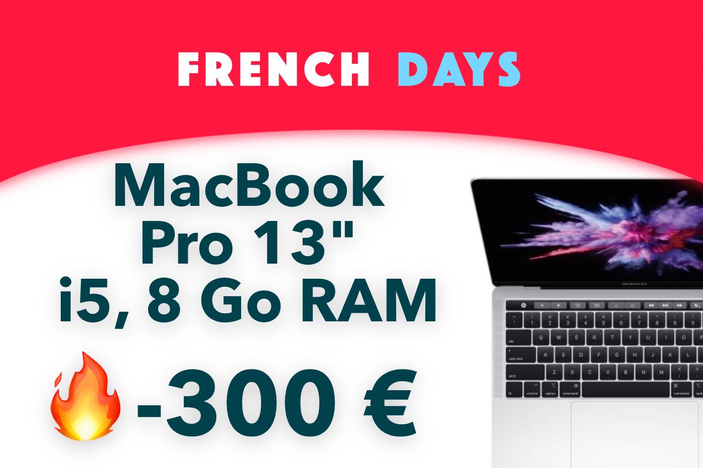 MacBook Pro French Days