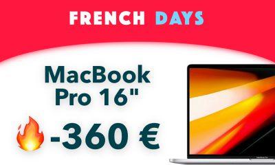 MacBook Pro 16 pouces pour French Days