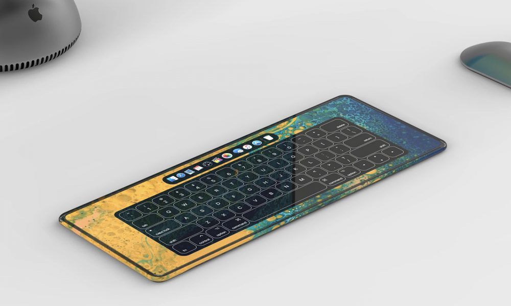 Magic Keyboard tactile