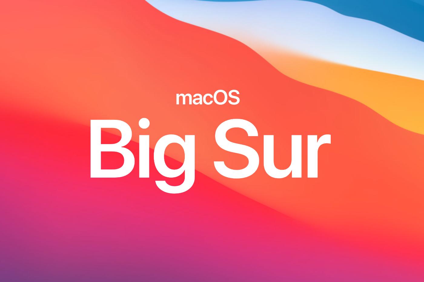 Nouveautes MacOS Big Sur