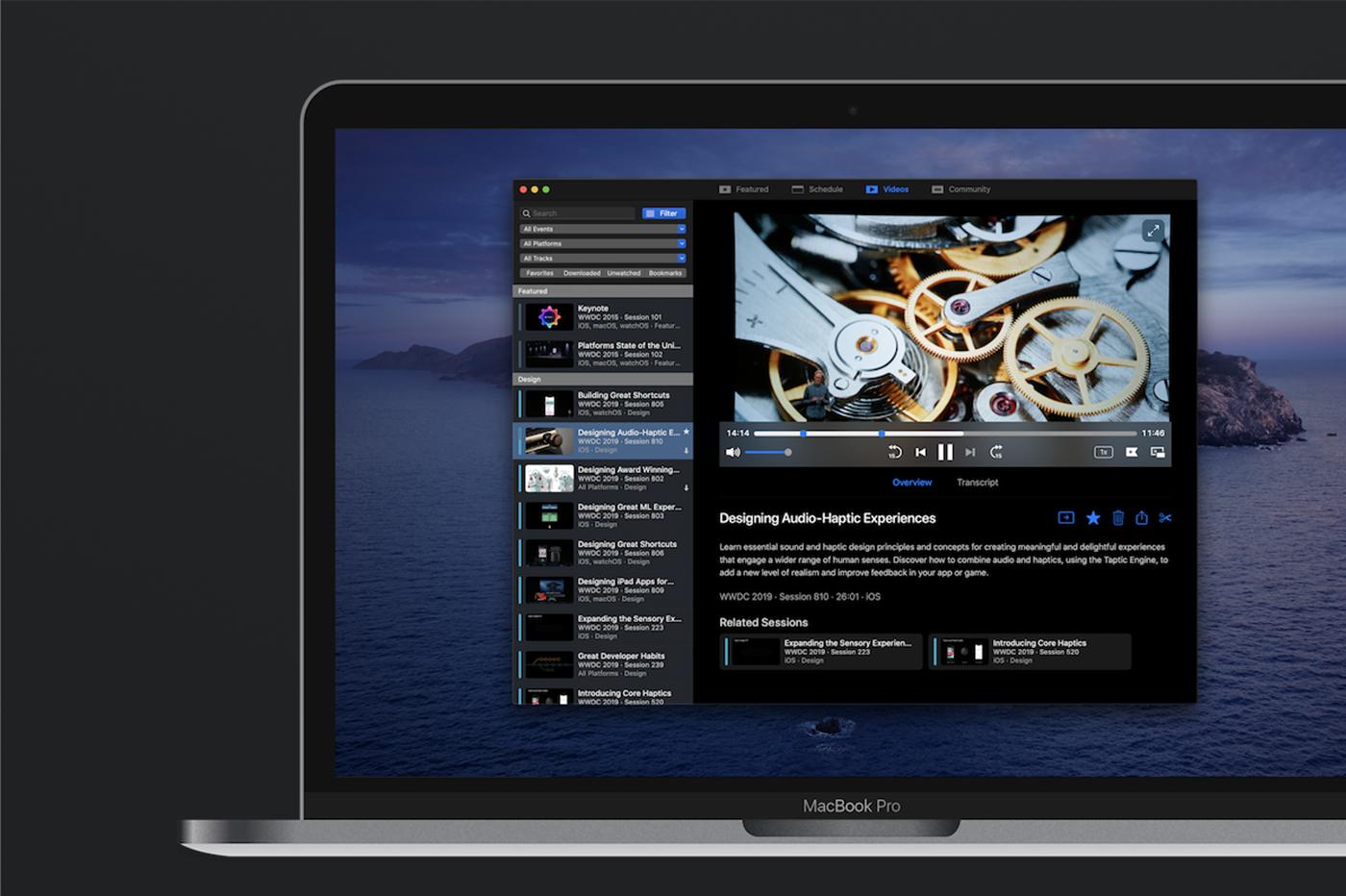WWDC : l'application non officielle fait peau neuve avant le jour J