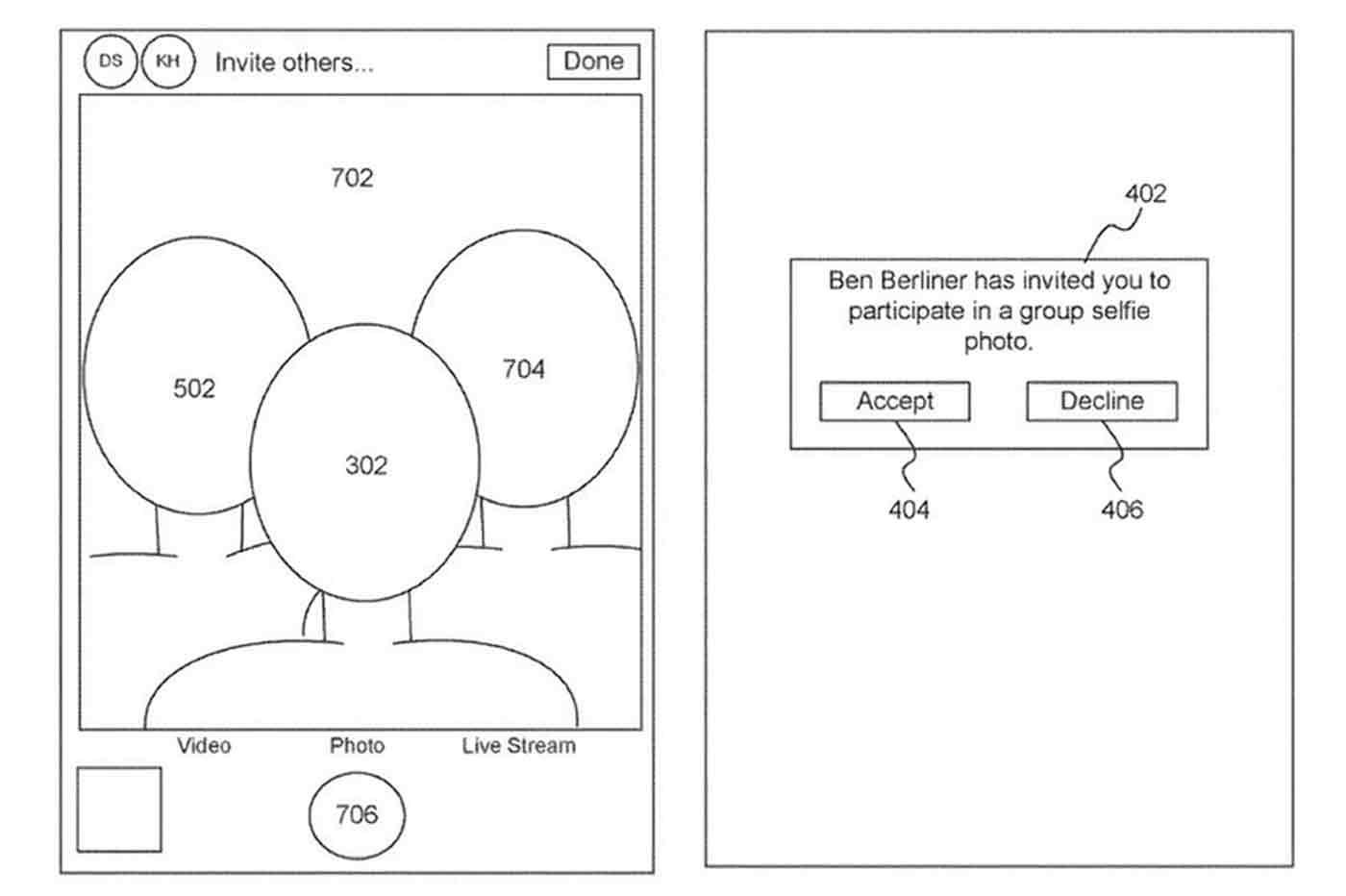 Apple selfie brevet