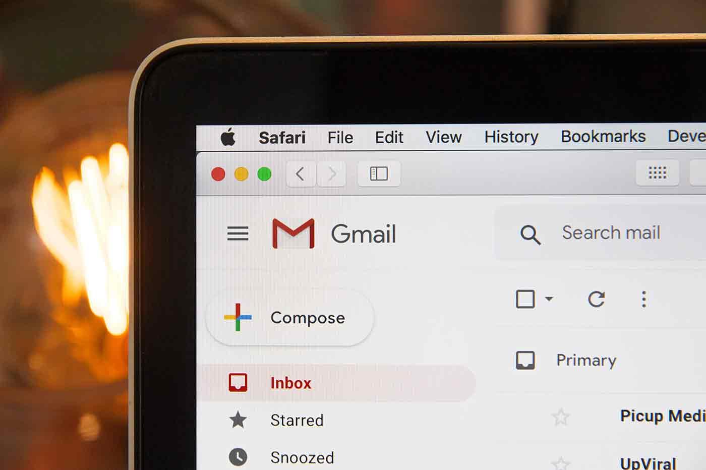 bug Gmail Mac