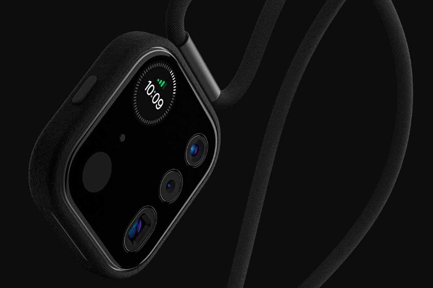 Concept caméra iPhone collier