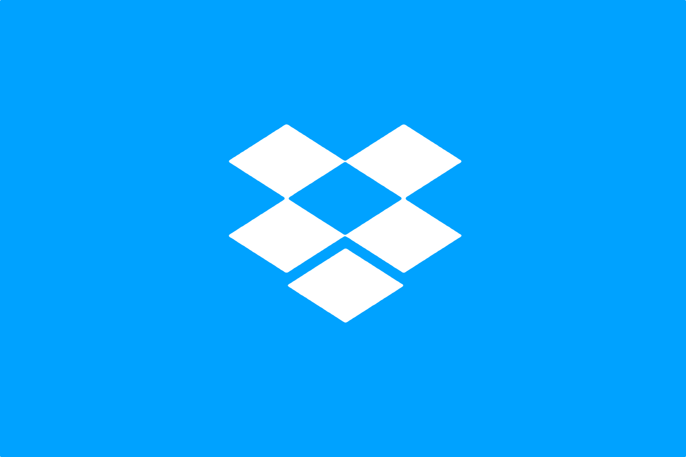 Dropbox logo bleu