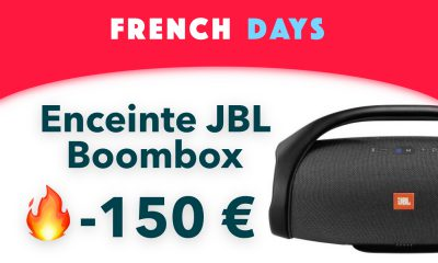 French Days réduction enceinte JBL Boombox