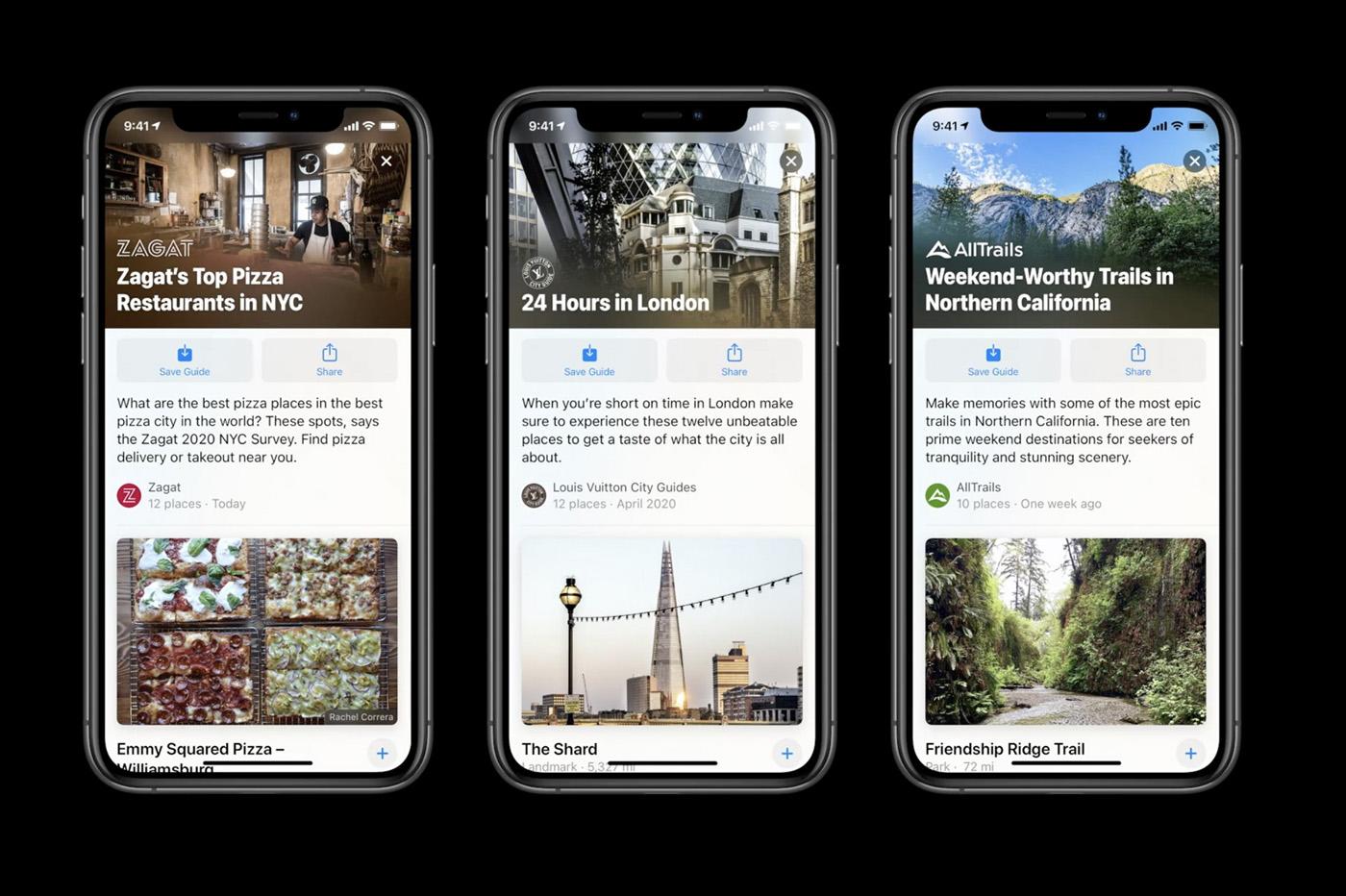 Guides iOS 14