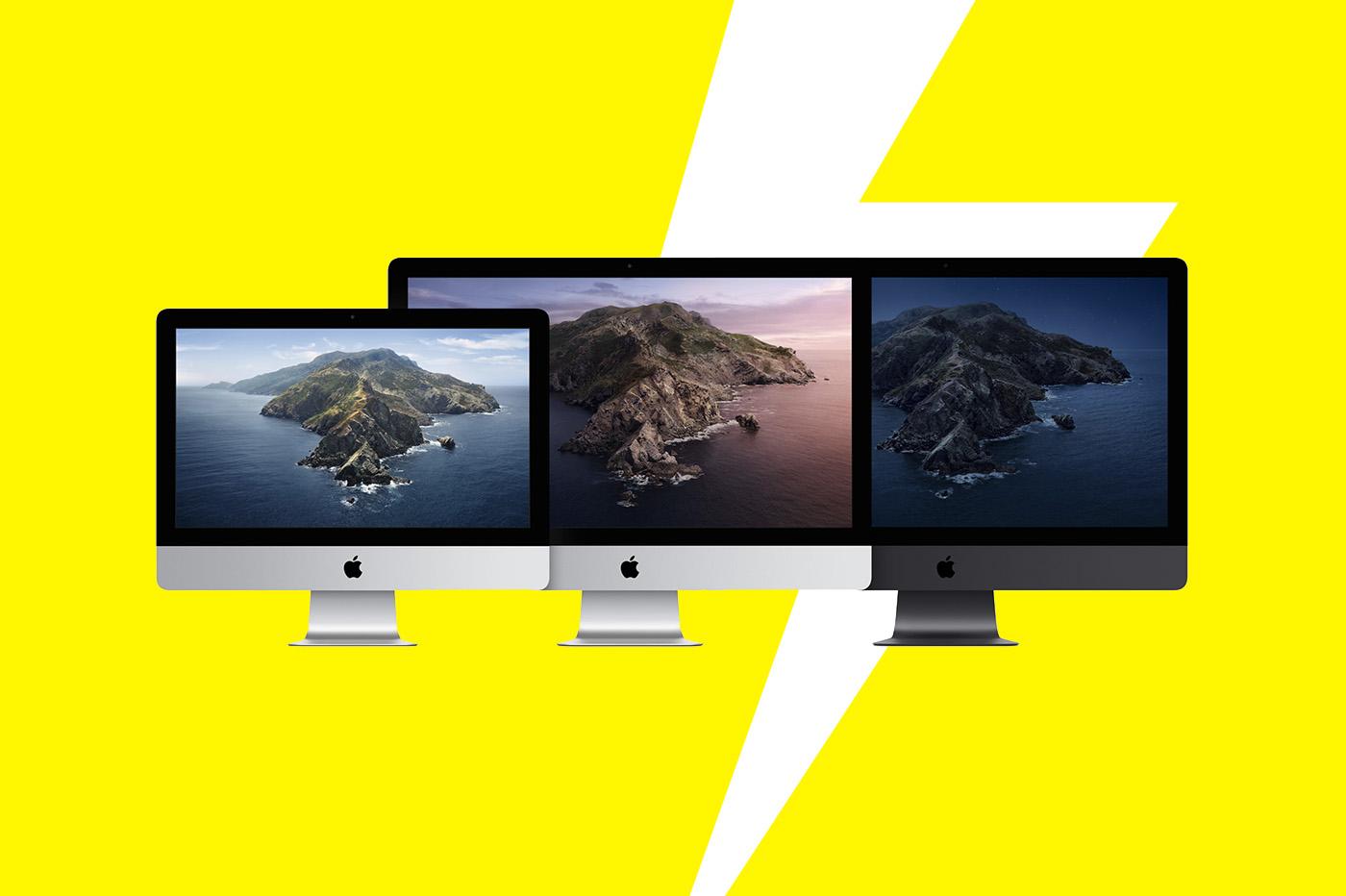 Comparatif iMac vs iMac Pro