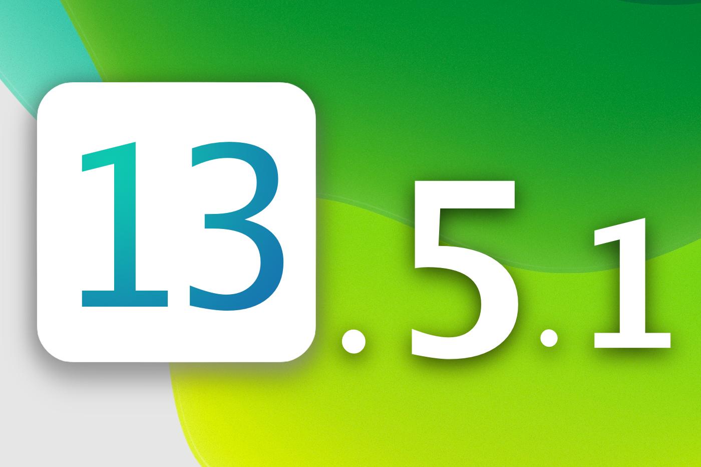 iOS 13.5.1