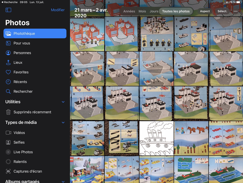 iPadOS 14 nouvelle barre latérale