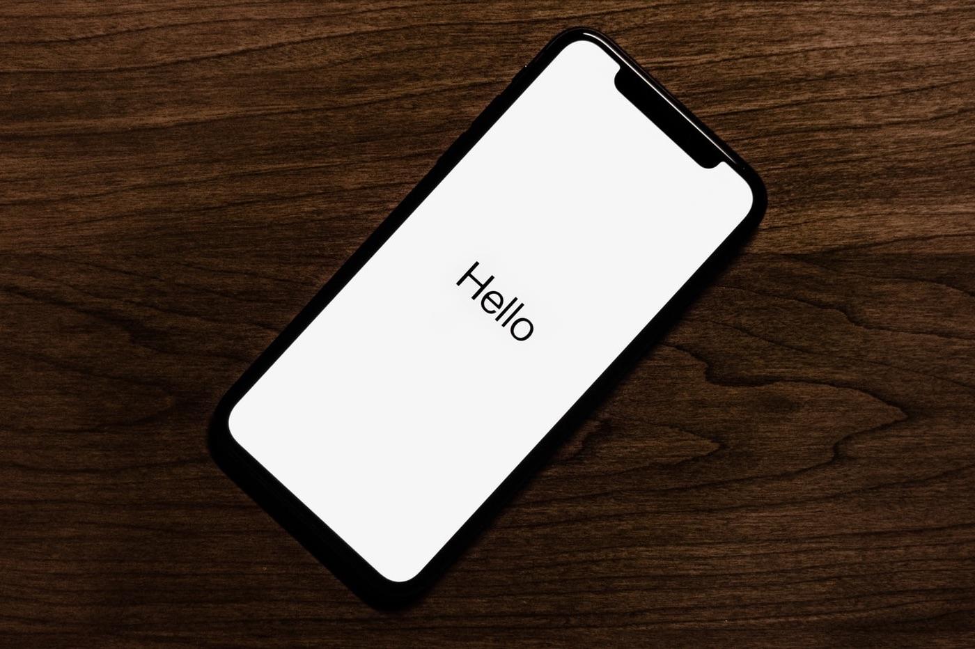 iPhone Face ID démarrage