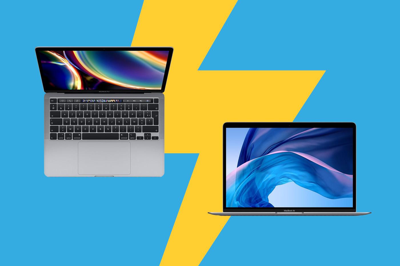 MacBook Pro 13 pouces vs MacBook Air