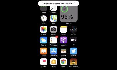 iOS 14 alerte presse-papier