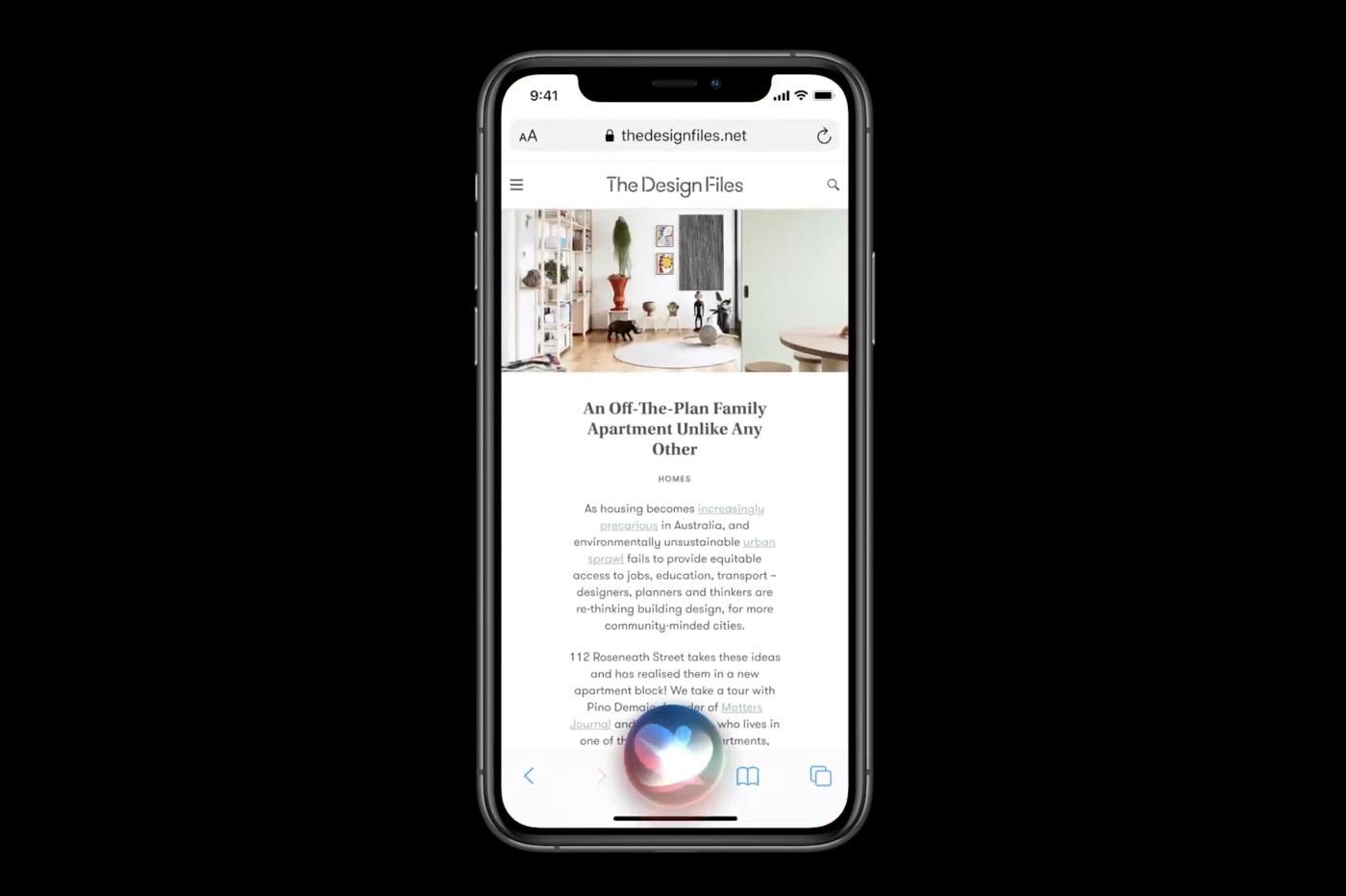 Siri est plus fluide qu'auparavant depuis la mise à jour vers iOS 14