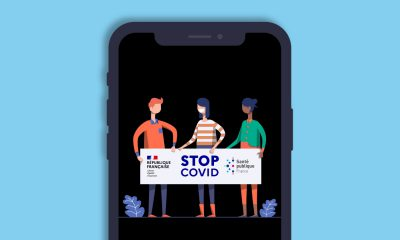 StopCovid France application iPhone & iPad
