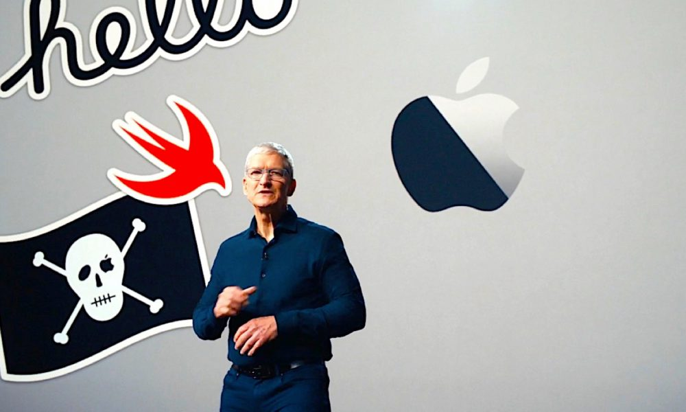 Tim Cook conférence WWDC 2020