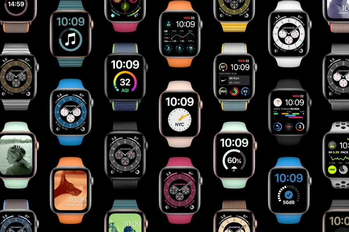 watchOS 7 WWDC