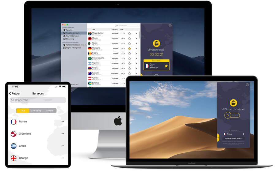 CyberGhost Application Apple
