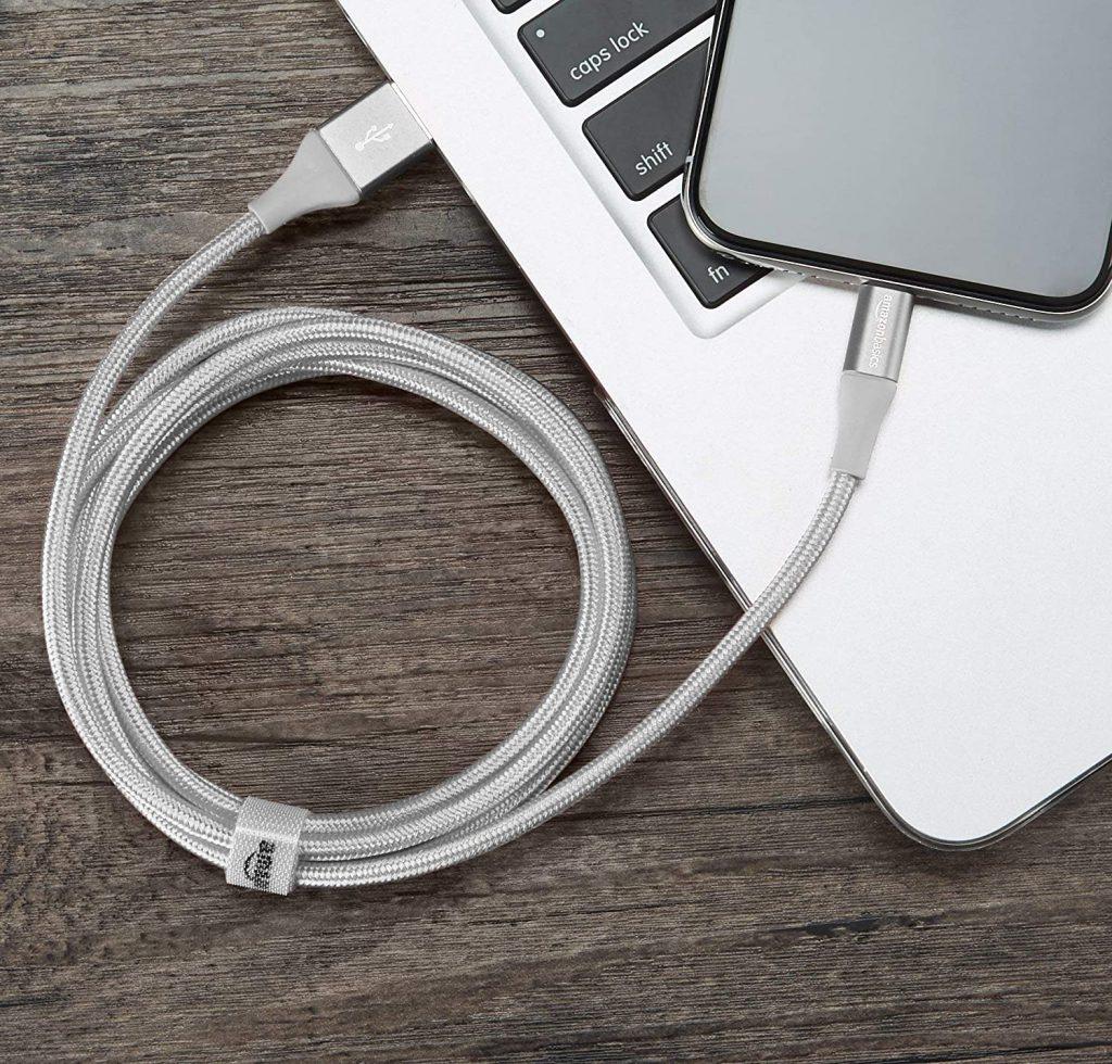 Chargeur iPhone Lightning AmazonBasics