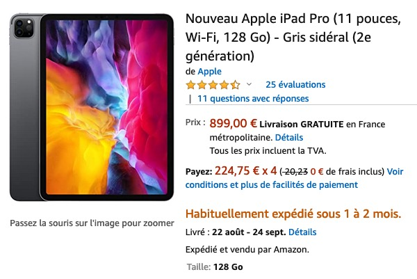 Amazon iPad Pro