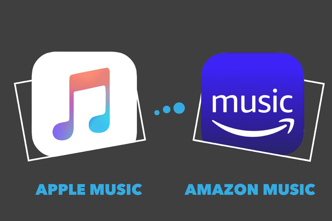Comparatif Apple Music vs Amazon Music