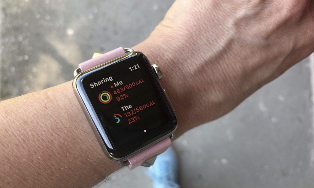 Apple Watch Fitness app