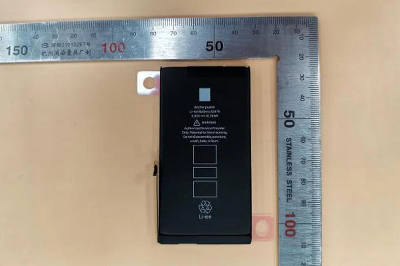 Une nouvelle batterie pour l'iPhone 12 Max et Pro