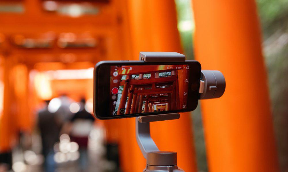 Caméra iPhone et stand