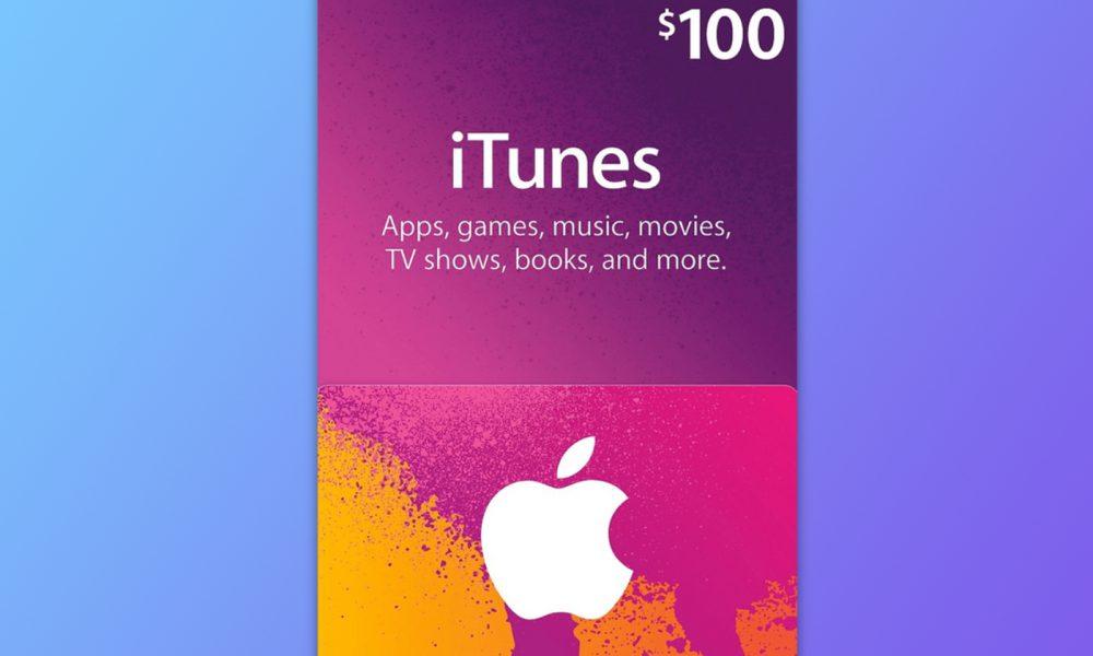 carte iTunes cadeau
