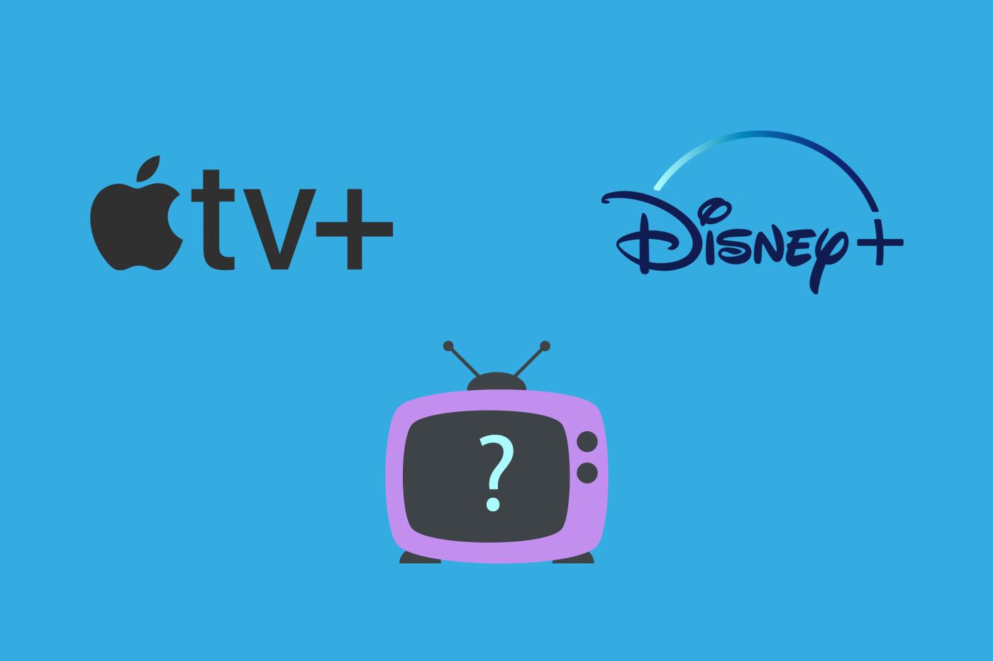 Apple TV+ vs Disney+ comparatif et différences